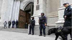 Man Arrested After Walking Into New York Cathedral With Gas Cans & Lighters [Video]