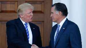 Mitt Romney Says He's 'Sickened' By Trump's 'Dishonesty' [Video]