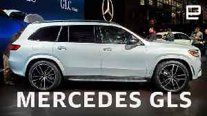 2020 Mercedes-Benz GLS First Look at NY Auto Show 2019 [Video]