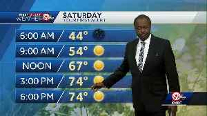 Easter weekend looks warm, mostly sunny [Video]