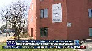 New Wellness Center opens in Baltimore to help those struggling with substance abuse [Video]
