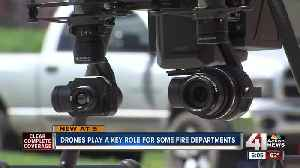 Drones play a key role for some fire departments [Video]