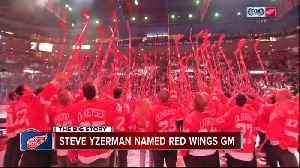 Ken Holland a major reason why Steve Yzerman is back with the Red Wings [Video]
