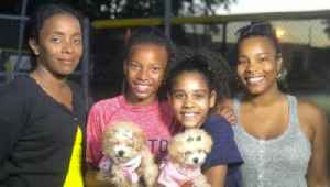Boynton Beach family heals after tragedy by rescuing puppies [Video]