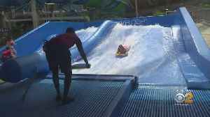 New Water Park Opens In Catskills [Video]
