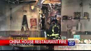 Restaurant fire leaves significant damage, Chico Fire responds [Video]