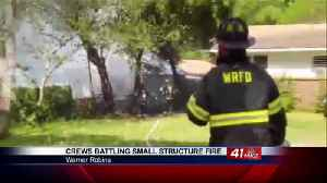 Blast to structure in Warner Robins under investigation [Video]