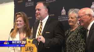 Former St. Stanislaus basketball head coach introduced at Southern Miss [Video]