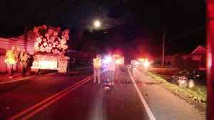 VIDEO Tractor-trailer, car crash on Route 895, sending truck into West Penn home [Video]