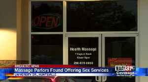 Massage Parlors Found Offering Sex Services [Video]