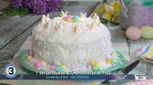 Mr. Food: Ultimate Coconut Cake [Video]