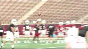 Lafayette Football Goes Through Spring Practice [Video]