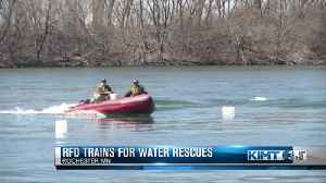 RFD trains on water rescues [Video]