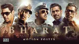 'BHARAT' Motion Poster | Salman's JOURNEY on EID [Video]
