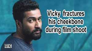Vicky Kaushal fractures his cheekbone during film shoot [Video]