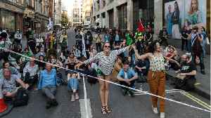 News video: UK Police Say Total of Environment Activists Arrested Passes 700