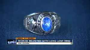 Local woman gets her missing class ring back after 30 years [Video]
