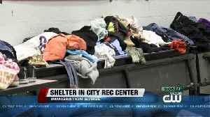 Immigrants shelter at Tucson Rec Center [Video]