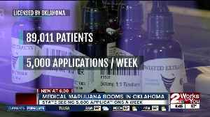 Medical cannabis boom in Oklahoma: 89,011 patient cards issued [Video]
