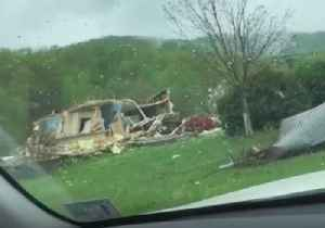 Possible Tornado Leaves Trail of Destruction in Virginia's Franklin County [Video]