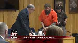UPDATE: Hearing for suspect in cold case murder postponed [Video]