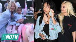 Khloe SHADES Tristan After He Shows Up To babies BDay! Kylie & Jordyn Ready To Be Friends! | MOTW [Video]