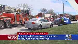 Fatal Edens Crash Closes Southbound Lanes Of Highway During Rush Hour [Video]