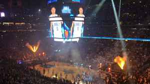 Magic vs. Raptors game 3 player introductions [Video]