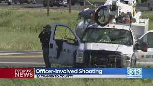 SMUD Truck Carjacked, Suspect Leads Deputies On Chase [Video]
