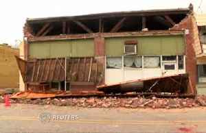 Severe weather damages buildings in South Carolina following tornado watch. [Video]