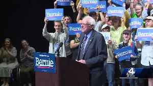 Presidential candidate Bernie Sanders makes a campaign stop in the Upstate [Video]