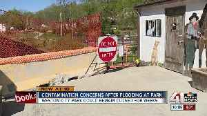 Contamination concerns keep Weston park closed month after flooding [Video]