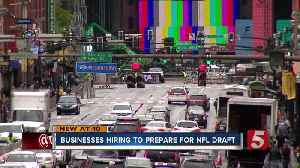 NFL draft bringing visitors, job opportunities to Nashville [Video]