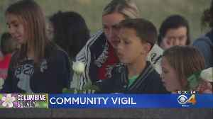 Community Gathers At Columbine Memorial For Remembrance [Video]