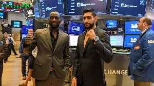Terance 'Bud' Crawford and Amir Khan Face Off at Madison Square Garden Saturday