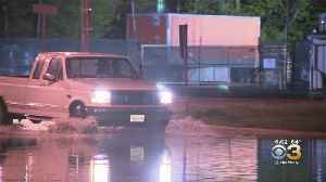 Heavy Rains Cause Flooding In Gloucester County, New Jersey [Video]