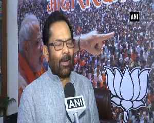 Mukhtar Abbas Naqvi takes jibe on Mayawatis cast comment [Video]