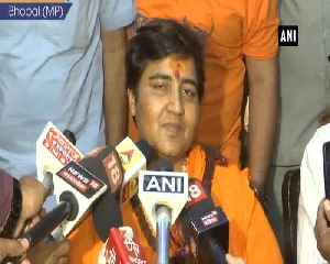 Sadhvi Pragya Singh Thakur apologises for her remark on Hemant Karkare [Video]