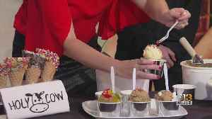 WJZ Saturday News: Holy Cow Edible Cookie Dough and Ice Cream [Video]