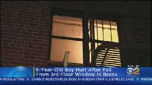 Bronx 6-Year-Old Boy Hurt After Fall From 3rd Floor Window [Video]