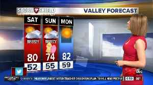Breezy and mild conditions this weekend [Video]