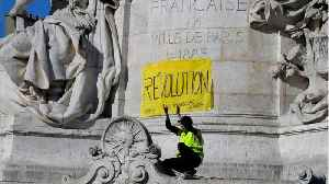 News video: Yellow Vest Protesters Clash With Police In 23rd Week Of Protests