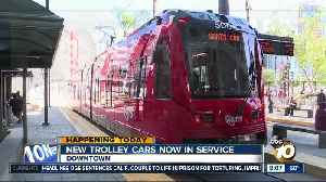 New trolley cars now in service [Video]