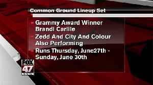 Brandi Carlile announced to headline at Common Ground [Video]