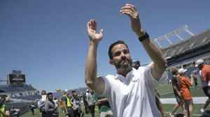 UM's Manny Diaz on the Hurricanes' spring game: 'I thought there was good execution on both sides' [Video]