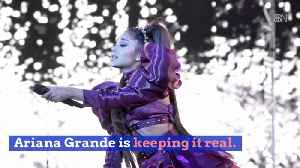 Ariana Grande Deletes Tweet About Trouble Performing [Video]