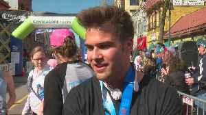 After Recovering From Heart Failure, Man Finishes Half Marathon [Video]