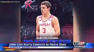 John Cole Norris commits to Roane State Community College [Video]