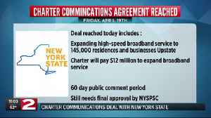 Charter Communications and New York State come to agreement [Video]