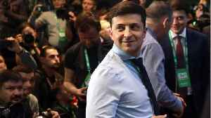 Comedian Wins Ukrainian Presidential Race [Video]